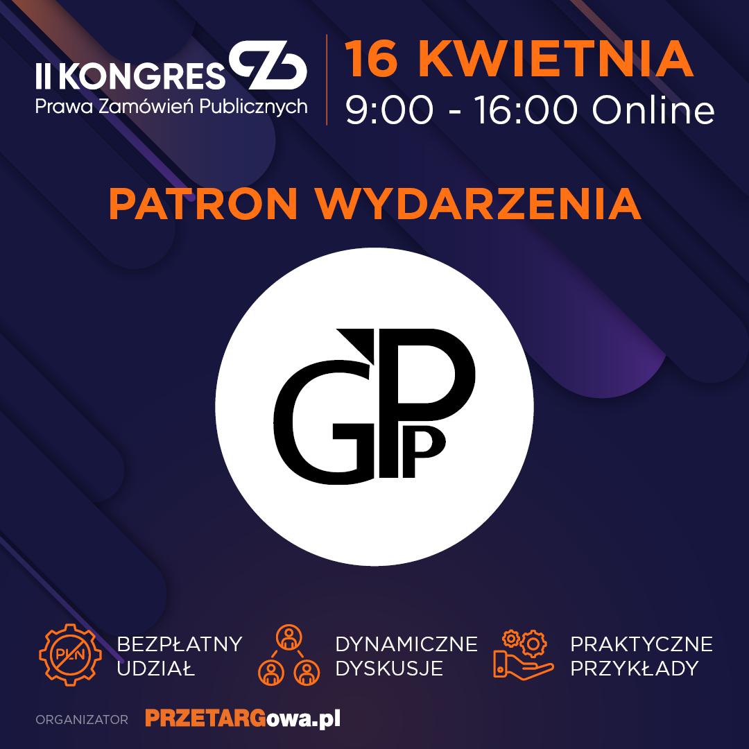 Zaproszenie na Kongres dotyczący Zamówień Publicznych pod patronatem GPP